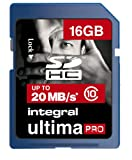 Integral 16GB UltimaPro SDHC Card (Class 10)