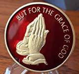 "RB100 Praying Hands ""But For The Grace Of God"" AA / NA Recovery Medallion Reviews"