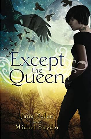 book cover of Except the Queen