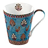 Creative Tops 1-Piece Bone China V&A Gujarat Fine Bone China Mug in a Gift Box