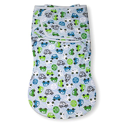 Summer Infant SwaddleMe WrapSack - Traffic Jam (Large) - 1