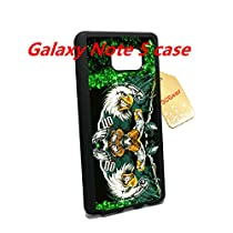 Philadelphia Eagles Samsung Galaxy Note 5 Case cover shell--with Tempered Glass Screen Protector