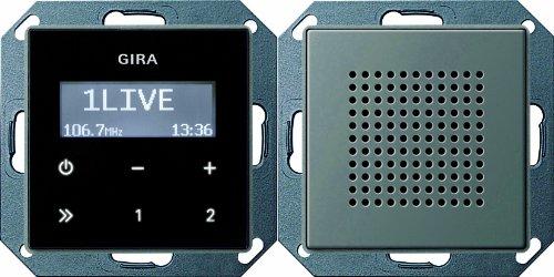 Gira 228020 Unterputz Radio RDS