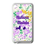 Nice Printing The Lion King Hakuna Matata Design 3D Printed Case for iPod Touch 4 Casehome-02894