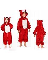 Izaac Unisex Children Kids Anime Cosplay Costumes Onesie Children Kids Pajamas Pyjamas Sleepwear Nightclothes Cosplay Gift For Hallowmas