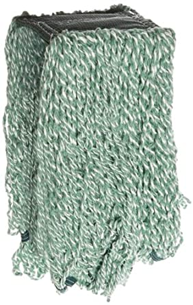 Rubbermaid Commercial FGA85206GR00 Web Foot Microfiber String Mop, 5-inch Size, Green