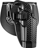 BLACKHAWK! Serpa CQC Carbon Fiber Appliqué Finish Concealment Holster, Size 04, Right Hand, (Beretta 92/96(not Elite/Brig.or M9A1)