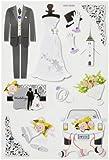 Creapop Sticker * Hochzeit II * Aufkleber 3451372