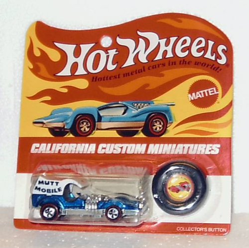 """Hot Wheels; Mutt Mobile 1971 (California Custom Miniatures)"""
