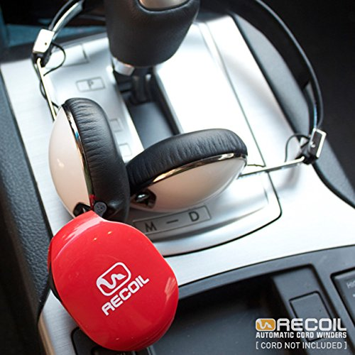 recoil automatic cord winder for usb cables