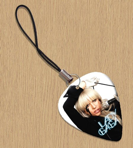 LADY GAGA Premium Guitar Pick Phone Charm