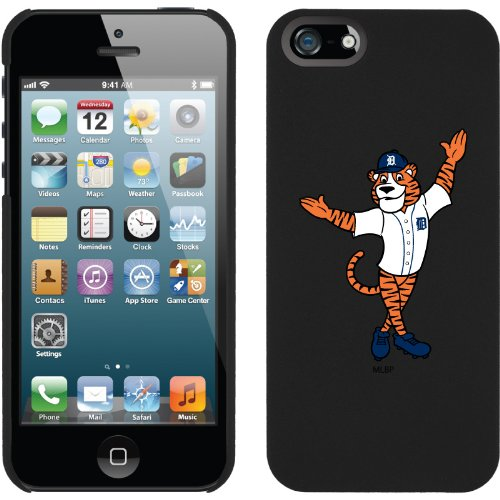 Great Price Detroit Tigers - Mascot design on a Black iPhone 5 Thinshield Snap-On Case by Coveroo