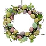 Pastel Easter Egg Wreath