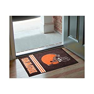 Cleveland Browns 20x30 Uniform Inspired Starter Floor Mat (Rug) by Fanmats