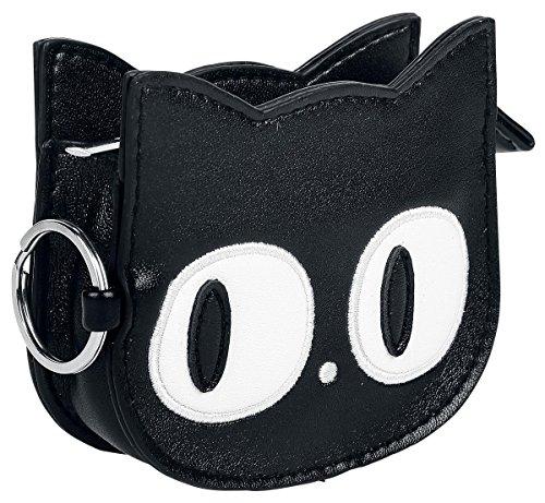 Banned Small Kitty Portamonete nero