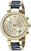 Michael Kors Womens MK6238 Parker Blue Watch