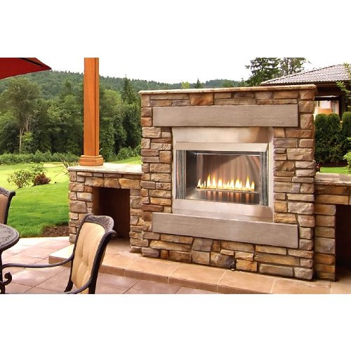 Outdoor Loft 36 inch Premium Fireplace OLP36FP72SP - Liquid Propane (Outdoor Liquid Propane Fireplace compare prices)