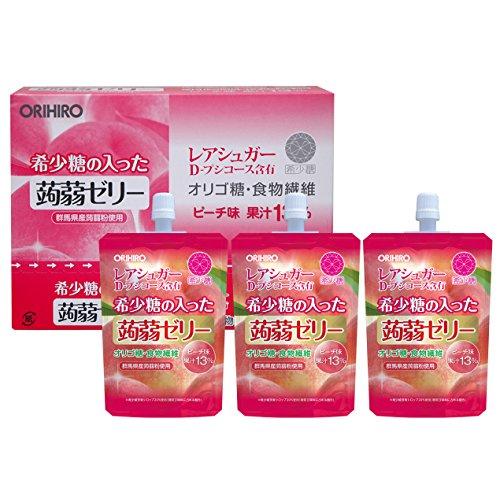 オリヒロ 希少糖ゼリー 130g×8個