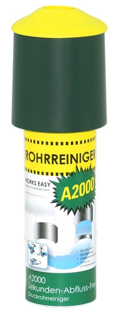 10 Stück purclean Rohrreiniger A2000 mit 125 ml  Der Abflussreiniger macht Pümpel, Pömpel u. Rohrreinigungsspirale überflüssig!    Kundenbewertung und weitere Informationen