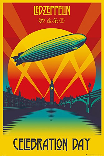 GB eye, Led Zeppelin, Celebration Day, Maxi Poster, 61x91.5cm