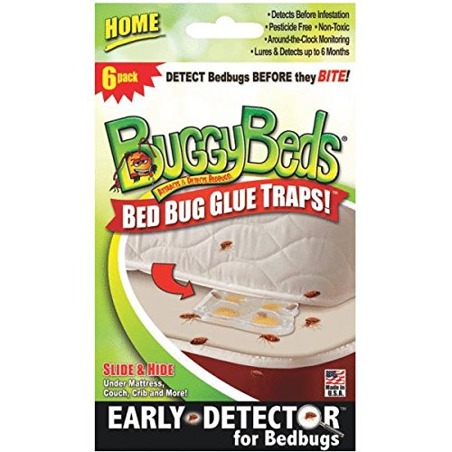 6 Pack Home Bedbug Detector 70640