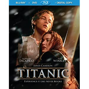 Titanic Blu-ray DVD Digital Combo