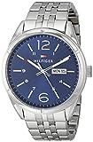 Tommy Hilfiger Men's 1791061 Analog Display Quartz Silver Watch