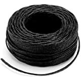 Leather Factory Waxed Thread 25 Yards-Black