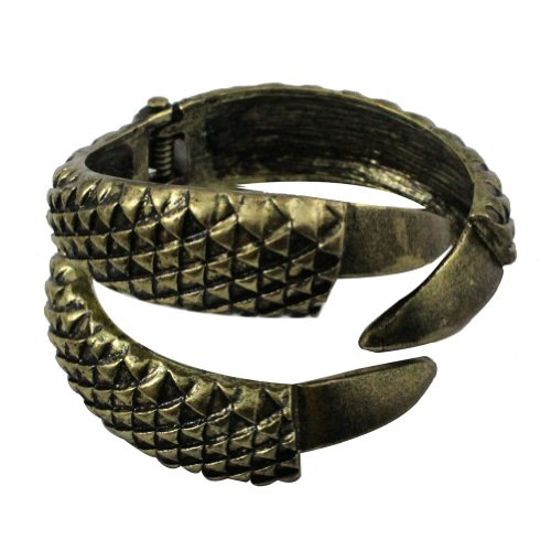 Zehui Vintage Eagle Claw 3talon Bangle Bracelet