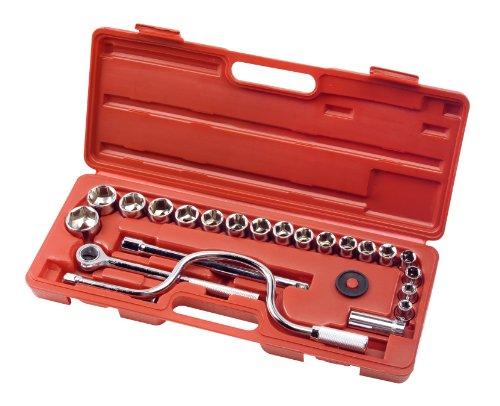 TEKTON 1040 1/2-Inch Drive Socket Set, SAE, 25-Piece