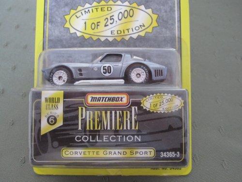 Corvette Grand Sport (silver) Matchbox Premiere Series 6 #34363-3 - 1