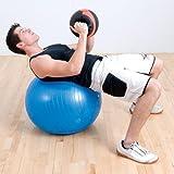 Anti-Burst Pro Exercise Ball 85 cm/Orange
