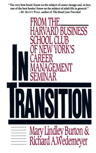 In Transition: From the Harvard Business School