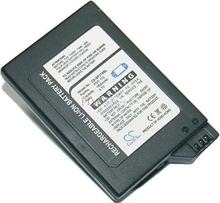 1800mAh Rechargeable Li-ion Battery fits Sony Sony PSP-1000 , PSP-1000G1 , PSP-1000G1W , PSP-1000K , PSP-1000KCW