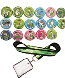 Ben 10 Birthday Party - 17 Favor Badges & 1 Lanyard