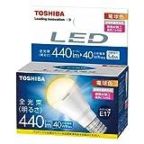 東芝 E-CORE(イー・コア) LED電球 ミニクリプトン形 5.6W (明るさ重視タイプ・密閉形器具対応・断熱材施工器具対応・E17口金・小型電球40W相当・440ルーメン・電球色) LDA6L-H-E17/S