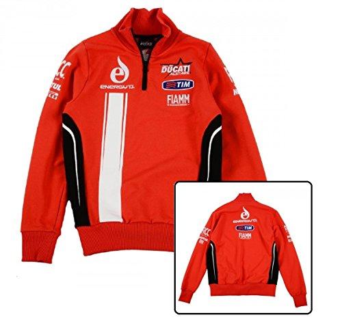 Ducati Alstare Team SBK-Felpa da uomo, uomo, rosso, XXL