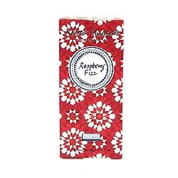 Raspberry Fizz White Chocolate Artisan Bar