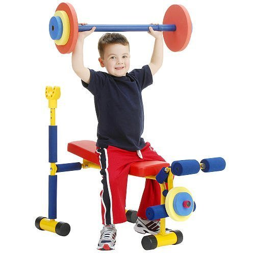 Fun Fitness Weight Bench for Kids by Redmon For Kids [並行輸入品]