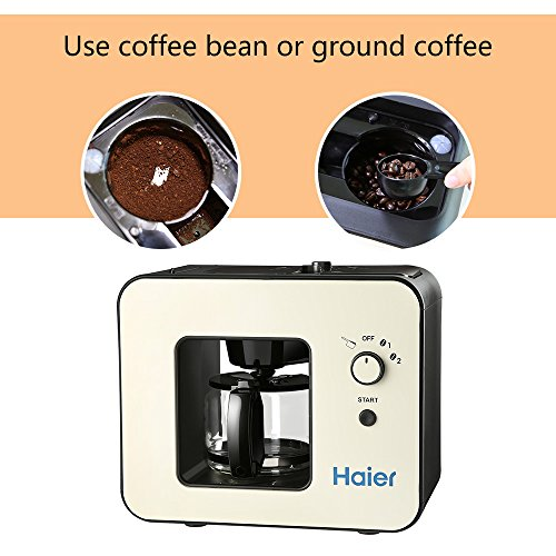 Haier Brew Automatic Coffee Makers 4 Cup with Grinder Espresso Machines