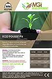 Eco'pousse - Engais potager et jardin bio - 500 grammes de concentré 100% naturel - Marque française