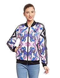 adidas Originals Women's Quilted Jacket (AB1986_Multicolor_32)