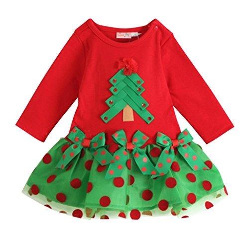 missfox punktenmuster festlich kleid baby m dchen weihnachtskost m lange 80. Black Bedroom Furniture Sets. Home Design Ideas