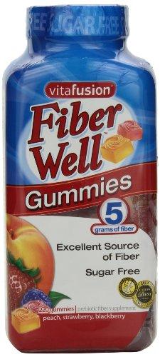 vitafusion Fiber Gummies, 220 Count Sugar Free
