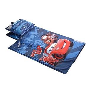 Disney Pixar Cars Deluxe Memory Foam Nap Mat Pillow Blanket Set