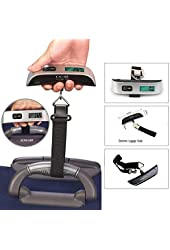 Aerb Portable Digital 110 Lbs Electronic Luggage Scale W Temperature Sensor & Tare Function
