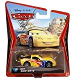Disney Cars 2 Fahrzeug Race Jeff Gorvette - V2814