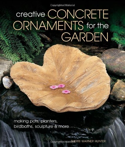 Creative Concrete Ornements for the Garden