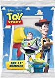 Disney Toy Story 12 inch Balloons - Package of 6