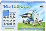 #8: Emob 14 in 1 Educational Solar Robot Kit (Multicolor)